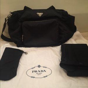 Prada Diaper Bag.  With authenticity card